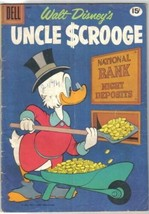 Walt Disney's Uncle Scrooge Comic Book #33 Dell Comics 1961 VERY GOOD+ - $29.91