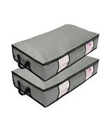 wsryx Underbed Storage Bags, 2 Pack Long Under The Bed Organizer Storage... - $22.11