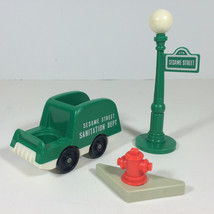 "Vintage Fisher Price Little People Sesame Street Muppet ""Oscar the Grouc... - $19.79"