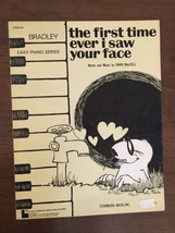 The First Time Ever I Saw Your Face by Ewan MacColl Sheet Music Vintage - $12.19