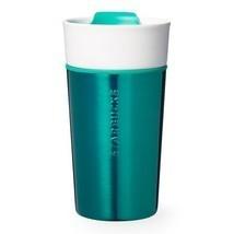 Starbucks Ceramic & Stainless Mug/Turquoise/12 fl oz - $28.66