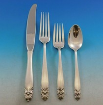 King Christian by Wallace Sterling Silver Flatware Set for 12 Service 48 pieces - $2,295.00