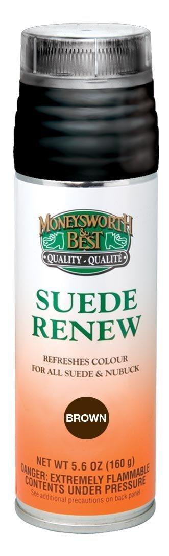 Moneysworth & Best Suede Renew Dye / Conditioner Color Spray 165 g / 5.8 oz image 2