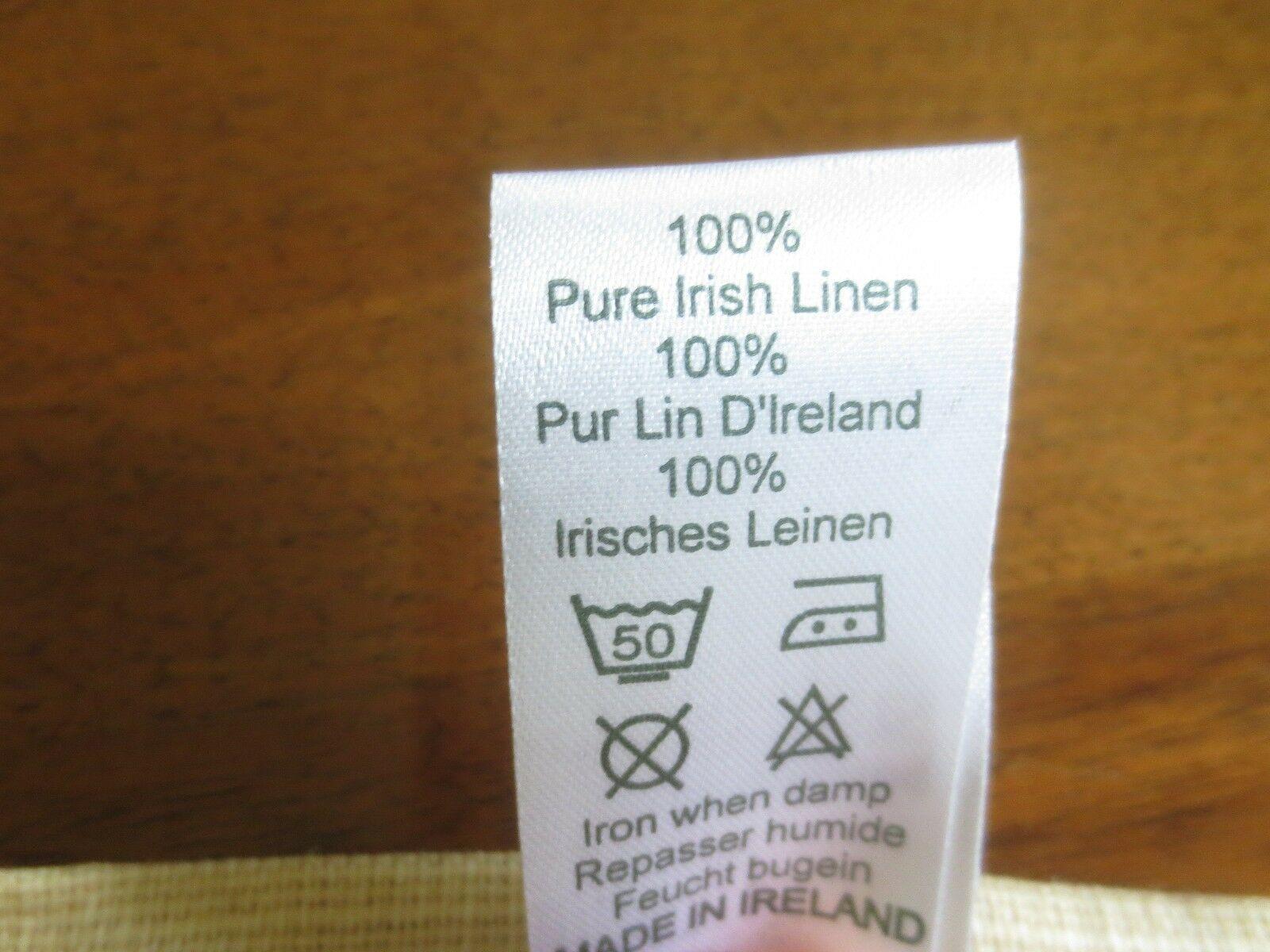 "Unused HERBS & SPICES Kitchen LINEN TOWEL - 18"" x 28"" - Ireland image 7"