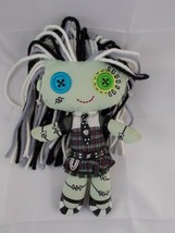"Fisher Price Ghoul Girl Monster High Frankie Stein Cloth Doll 9.5"" Stuff... - $5.56"