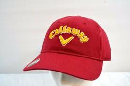 Callaway Golf Heritage Red/Yellow Baseball Cap NWT Adjustable Strap - $24.99