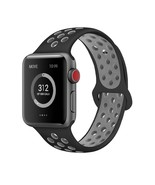 Replacement Sport Band Strap For Nike+ Apple iWatch Watch 1 2 3 Black 42... - $9.49