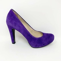 Franco Sarto Womens Purple Suede Leather 'Cicero' Heeled Pumps, Size 7 - $21.78