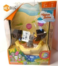 HexBug Lil Nature Babies Savanna Plains Zane the Black Rhino New, Box issue - $13.46