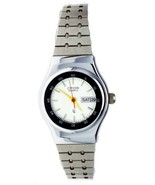New Old Stock Women's Citizen Watch Water Resist White Dial & Day Date  ... - $74.79
