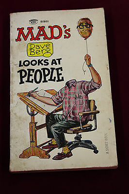 Primary image for  MAD Dave Berge Looks At People 1966 1st PRINTING Paperback Mad Magazine