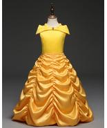 Yellow Kids Prom Ball Gown Tea Length Princess Pageant Wedding Flower Gi... - $35.00