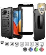 Moto E4 Plus Case (Plus Version Only), E Plus Case, With Tempered Glass... - $14.61