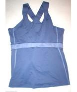 Womens Lululemon Tank Top Hot Yoga Purple 10 Pilates EUC Bra Wide Straps... - $62.00