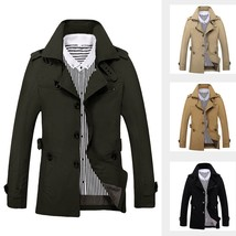 Military jacket windbreaker jacket solid hunting clothes army men outdoo... - $106.90