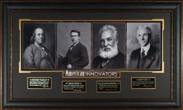 Ben Franklin American Innovators unsigned 23x38... - $279.95