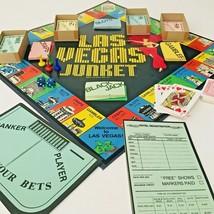 Vintage Las Vegas Junket Gambling Family Party Cadaco Inc.Casino Board G... - $14.36