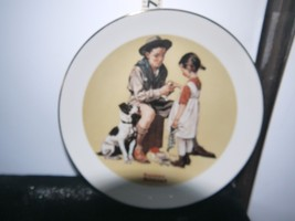"""Blair Shoppes 7"""" Norman Rockwell Collectible Plate """"To The Rescue!"""" Design - $7.00"""