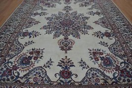 9'3x12'4 Fabulous Colors Genuine Semi Antique Persian Mood Hand Knotted ... - $989.01