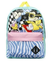 Vans x Disney Backpack 80's Retro Mickey Minnie Mouse 90th Anniversary Old Skool - $49.95