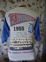 Vintage Brooklyn Dodgers 1955 MLB World Series 1994 Cooperstown T Shirt Sz M - $49.44
