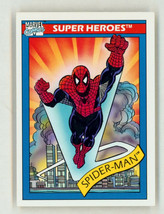1990 Marvel Universe Series 1 Art Trading Card #30 Cosmic Amazing Spider-Man - $8.90