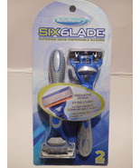 Reliashave SIX6lade Superior Mens Six blades Disposable Razor. New - $14.95