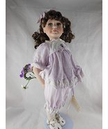 Hamilton Heritage Vintage Kimberly Porcelain Doll Designer Jane Zidjunas... - $39.59