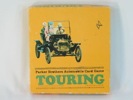 Touring 1965 Card Game Auto Race Parker Brothers 100% Complete Excellent Plus ^^ - $22.31