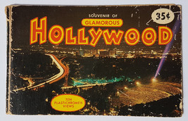 "Original Vintage ""Souvenir of Glamourous Hollywood"" by Plastichrome 1970... - $9.74"