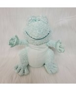 """10"""" Baby Boyds Frizzie Frog Green Plush Stuffed Lovey Toy Girl Boy B215 - $19.97"""