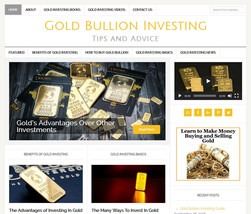 * GOLD INVESTING * affiliate website business for sale w/ AUTO UPDATING ... - $90.70