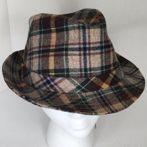 75a02c9a2 Vintage Pendleton Wool Fedora Hat Brown, and 16 similar items