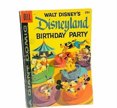 Dell giant comic Disneyland 1958 birthday party vtg collectible Mickey Donald #1 - $28.98