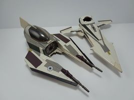 Star Wars The Clone Wars Mace Windu's Jedi Starfighter Hasbro Exclusive image 7
