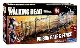 McFarlane Toys The Walking Dead AMC TV Series Prison Gate & Fence Buildi... - $20.58