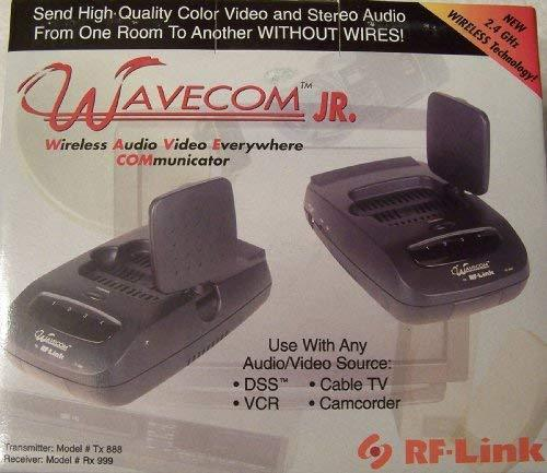 Wavecom Jr. RF-Link 2.4GHz Wireless Audio/Video Transmitter