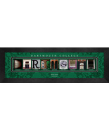Personalized Dartmouth College Campus Letter Art Framed Print - $39.95