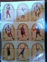 1994 Upper Deck Sp Die-Cut All-Stars Complete Set 30 Sheets Nba Basketball Card - $1,286.84