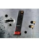 Metal Earbuds w/In-line mic-- Full Metal Jacket Earbuds Gun Clip case - $6.91