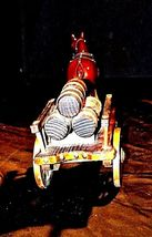 Ceramic Clydesdale Horse with Cart of six Barrels AA18-1318 Vintage image 4