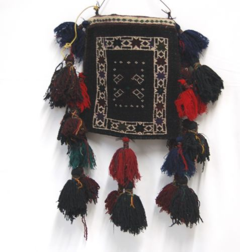 Unbranded DV150 Mushwani Dowry Bag Wool Hand Made Multi Colored