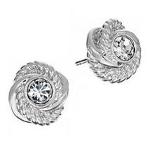 Kate Spade Infinity & Beyond Silver Knot Stud Earrings NWT - $40.00