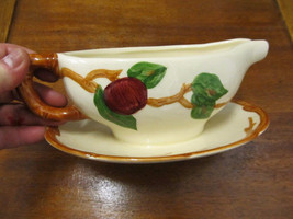 Franciscan Ware Apple Pattern Gravy Boat - $17.77