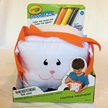 Crayola Doodlemals Scribbles the Lion Craft Art Gifts For Kids Washable NEW - $14.84