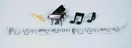 DecoPac CELEBRATE MUSIC CAKE TOPPER DECORATION MUSICAL INSTRUMENTS PIANO... - $15.83
