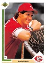 1991 Upper Deck #133 Paul O'Neill NM-MT Reds - $0.99