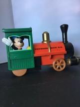 Disney's Thunder Mountain Mickey Train Pull Back Toy L05 - $14.84