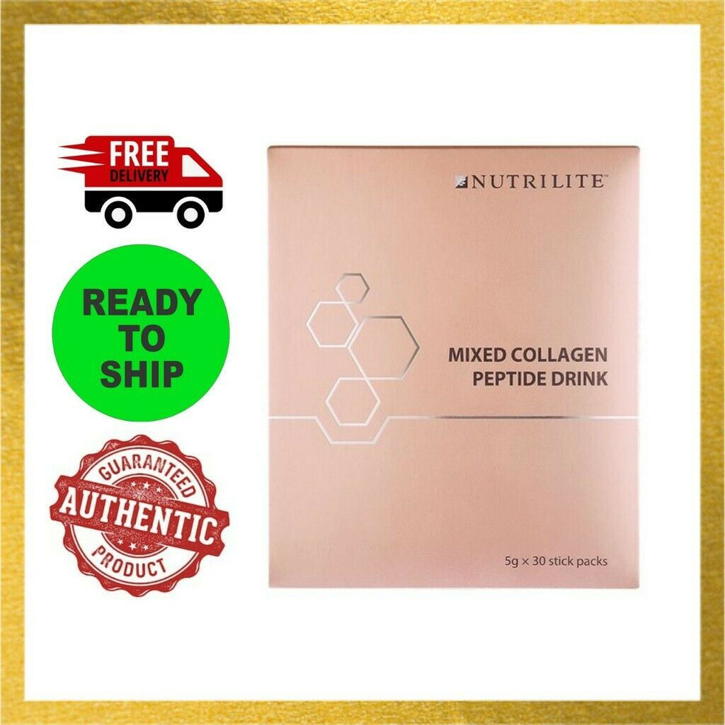1x Amway Nutrilite Mixed Collagen Peptide Drink - 5g X 30 sticks DHL Express - $107.91