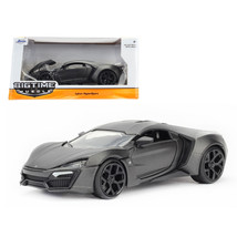 Lykan Hypersport Primer Gray 1/24 Diecast Model Car by Jada 98075 - $33.37